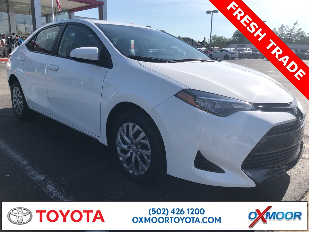 Oxmoor Toyota Service >> Pre Owned 2017 Toyota Corolla Le